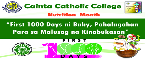 Nutrition Month 2016