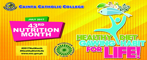 Nutrition Month AY2017-2018
